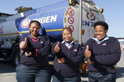 Fuelling women truck drivers