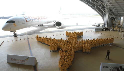 Ethiopian Airlines sets Guinness World Record