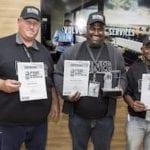 Driver Dharmendra Arejune wins Volvo Trucks SA competition