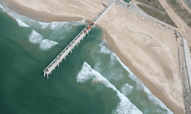 Unique port sand bypass system successfully mimics nature