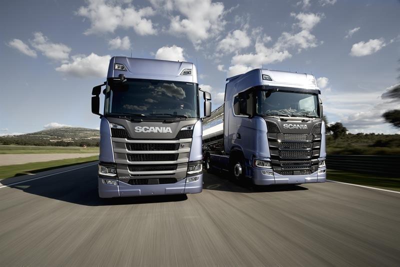 Scania launches new range
