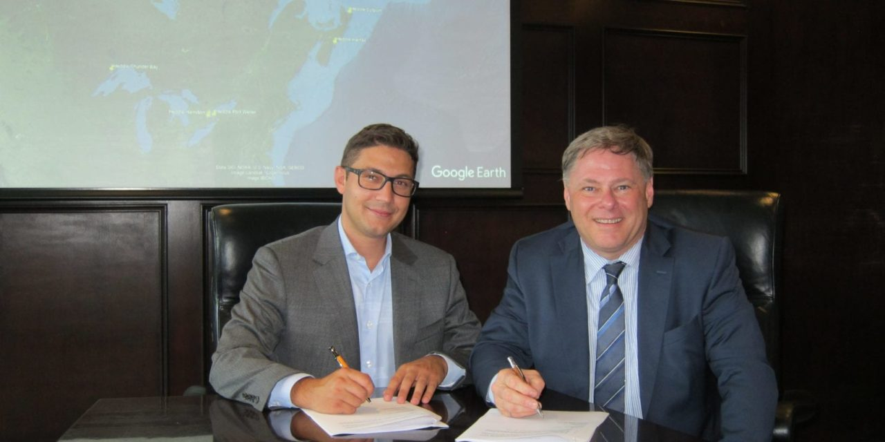Thordon Bearings and Heddle Marine sign a cooperative agreement