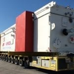 100-tonne, 38-metre cold box on the road to Coega