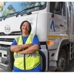 Waste management group invests in women truck drivers