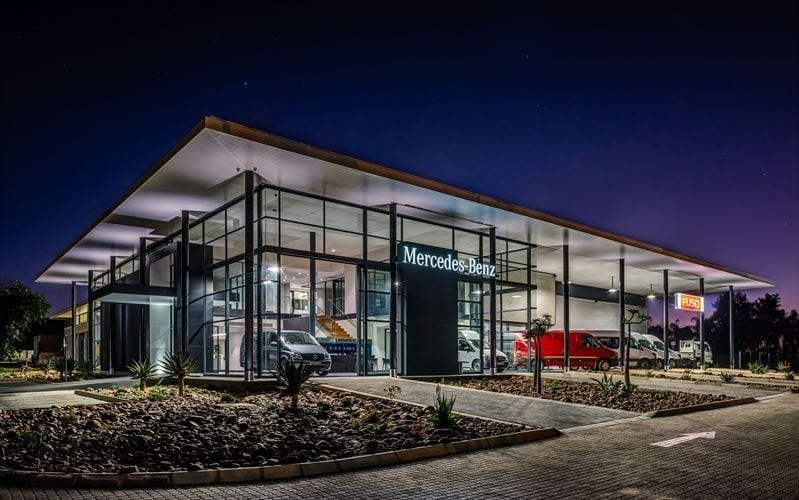 New Daimler dealership in Rustenburg