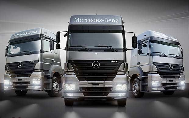 Mercedes-Benz trucks bucks the national trend with 4.0% growth in new truck registrations
