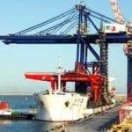 Ngqura, receives two Super Post Panamax STS Cranes
