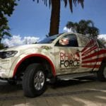 Mitsubishi joins Rhino Force in fight against poachers
