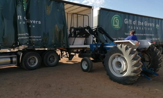 Gift of Givers to be partly compensated for drought efforts in Makhanda