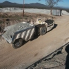 Dump truck at Consolidated Murchison's Monarch surface decline