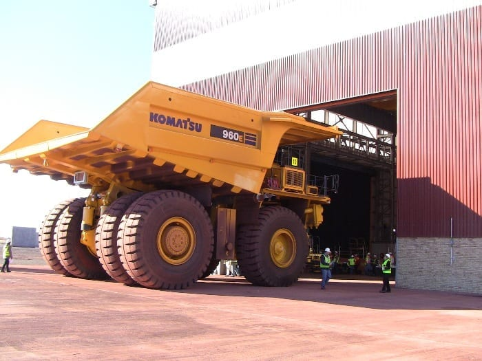 Driven by mining infrastructure EPCM