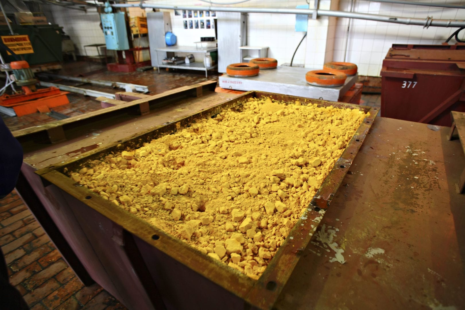 The processing key for low grade uranium