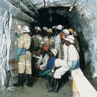 Amplats workers prevented from exiting underground