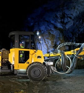 Atlas Copco launches new Boltec S mechanised rock bolting rig