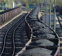 Flourishing coal-for-export production