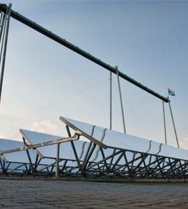 Local sun catchers hit the mining market