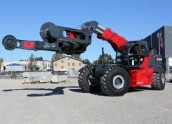 Telehandler super-breed for Africa