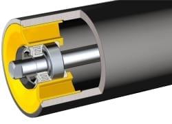 New conveyor rollers lighten the load