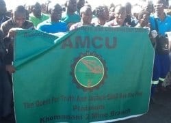 AMCU union rejects wage hike from gold producers – spokesman