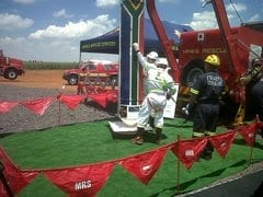 Mines Rescue Services unveils new Rescue Drill Rig