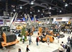 Case showcases new equipment in Las Vegas