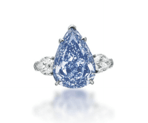 Rare blue diamond to fetch $25 million at auction