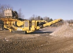 IROCK launches TJ-3046 tracked jaw crusher
