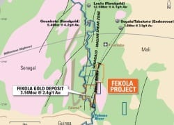 Papillon begins site clearing at Fekola in Mali