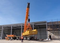 Specialised lifting solution at Otjikoto in Namibia