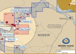 Middle Island's legal recourse over Niger permits