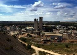 Anglogold mining rehab in quake aftermath