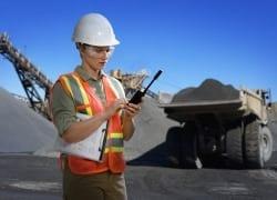 Digital radio to improve mine safety