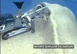 Nautilus secures mining vessel to mine seafloor deposits