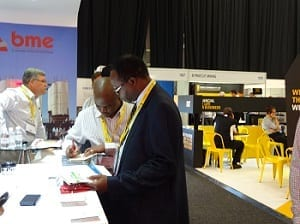 BME to exhibit at Mining Indaba
