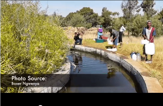 VIDEO: Mining town's water shut down