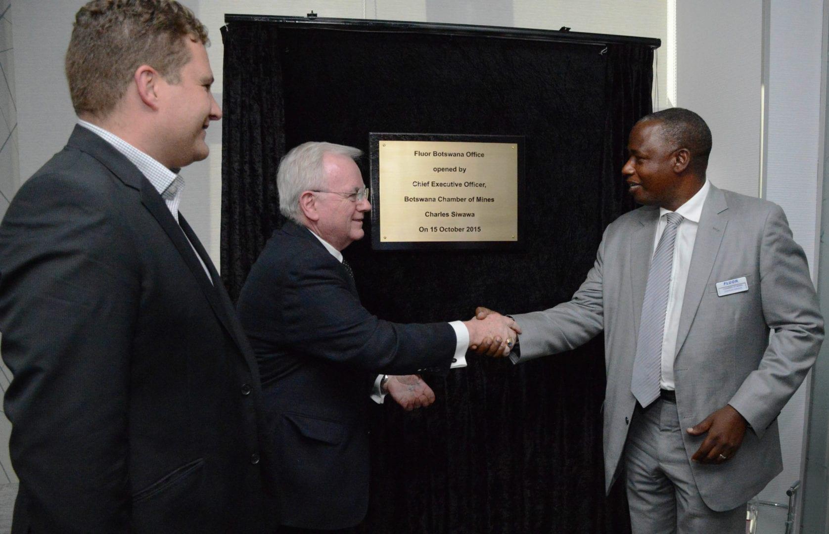 Fluor opens doors to Botswana office