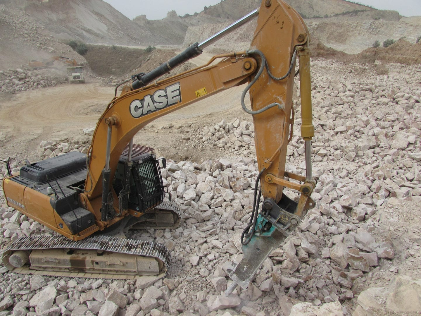 Tunisia quarry loyal to Case wheel loaders for over 25 years