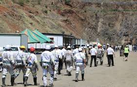 Lily Mine protesters demand answers over unpaid salaries
