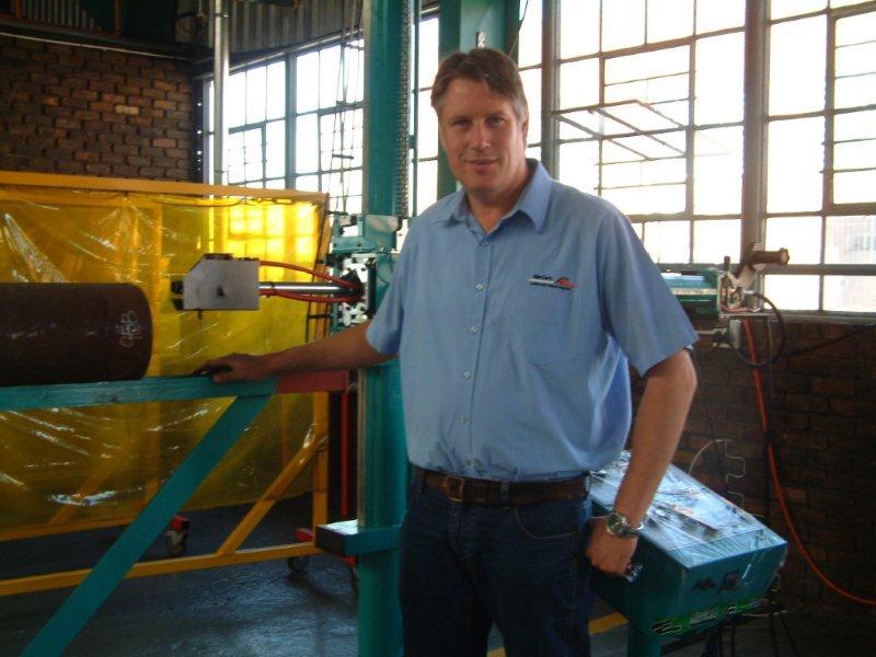 Innovative new welding machine increases efficiencies