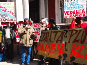 Global day of action against Vedanta