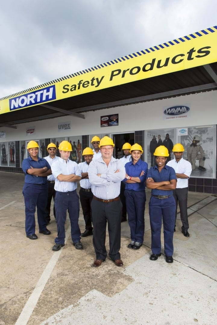 North Safety Products at Electra Mining, for mining workers