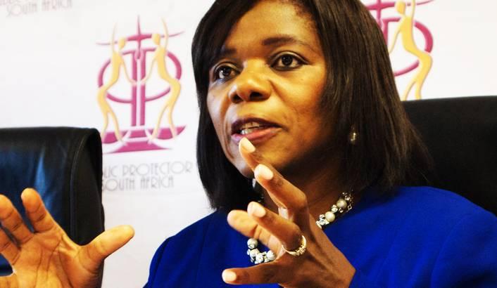 "Madonsela details ""missing millions"" in mining royalties"