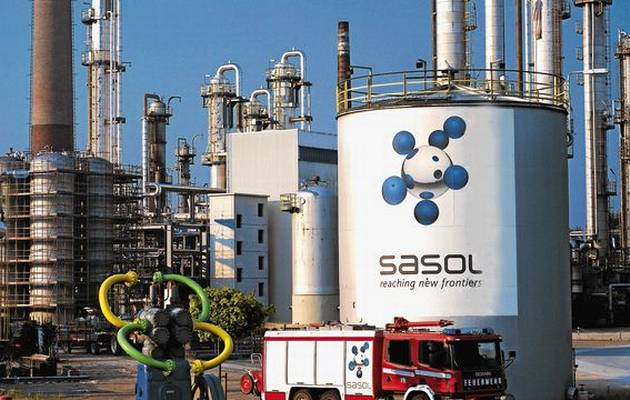 Sasol group profits plummet by 44%