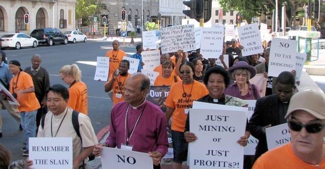 An alternative indaba held alongside Investing in African Mining Indaba