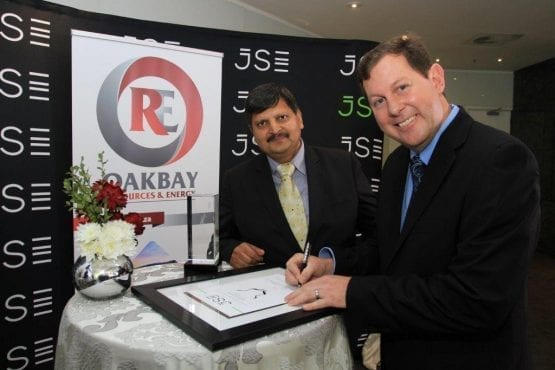 Gupta owned Oakbay Resources faces JSE suspension