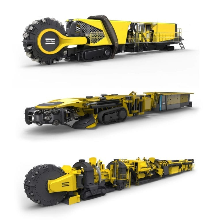 Atlas Copco introduces the future of hard rock mining
