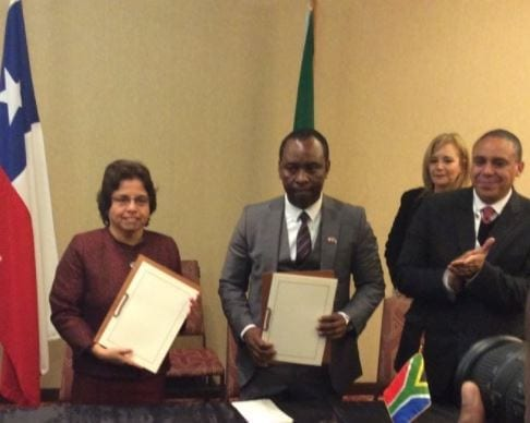 South Africa and Chile MoU aligns with Charter objectives