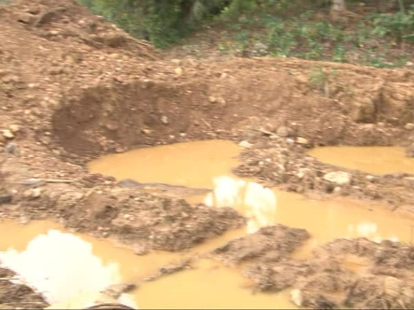 Rescue efforts suspended at collapsed mining pit following heavy rains