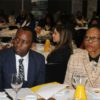 Mineral Resources Minister, Mosebenzi Zwane with Black Business Council Chair Danisa Baloyi