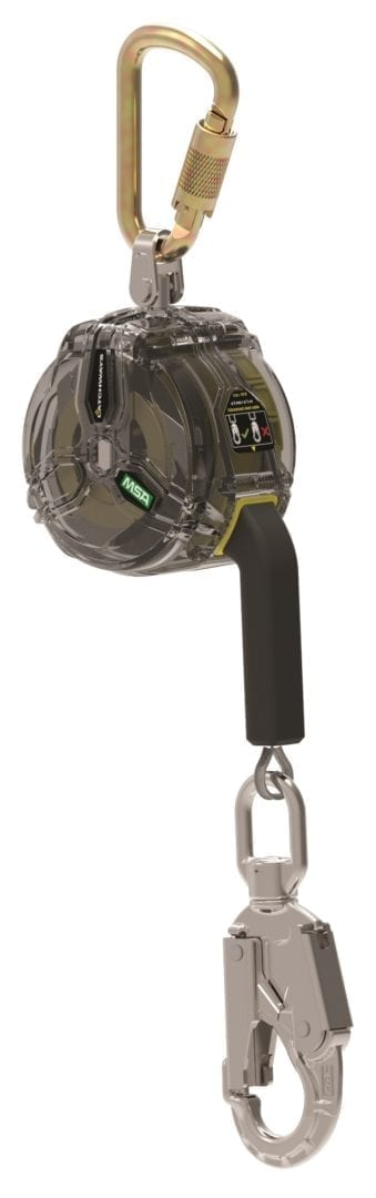 MSA launches self-retracting lanyard